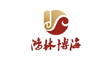 鴻林博海公司LOGO設計