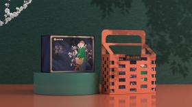 藍字農社高端食品品牌包裝設計