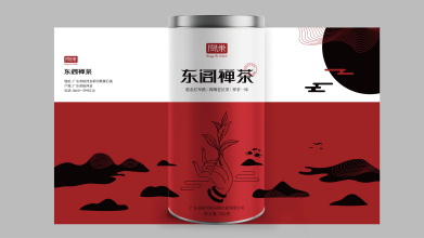 东阁禅茶品牌包装设计