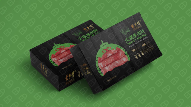 蒙乡情牛肉食品品牌包装必赢体育官方app入围方案0
