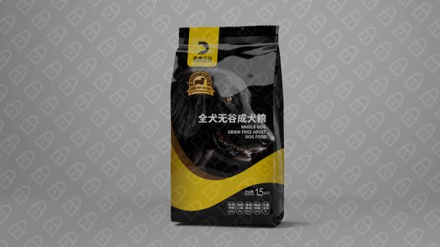 西麦贝贝狗粮品牌包装设计入围方案6