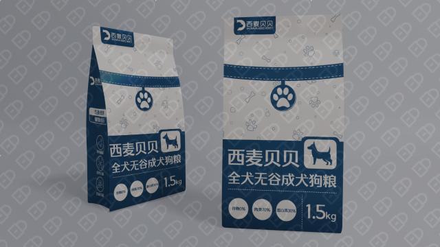 西麦贝贝狗粮品牌包装设计入围方案4