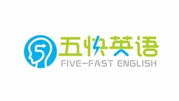 五快英語APP品牌LOGO設計