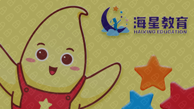 海星教育品牌吉祥物乐天堂fun88备用网站入围方案0