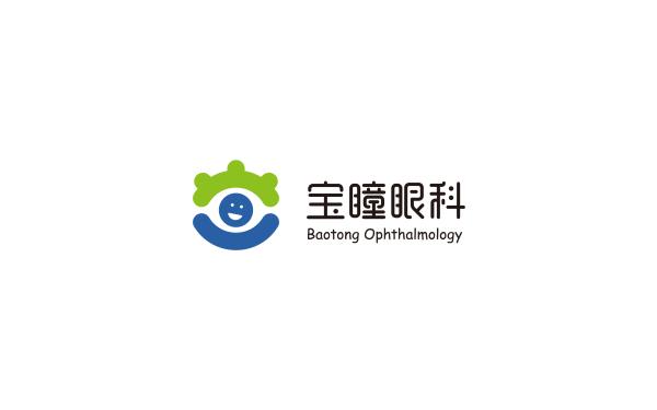 宝瞳眼科-儿童眼科医院-logo设计