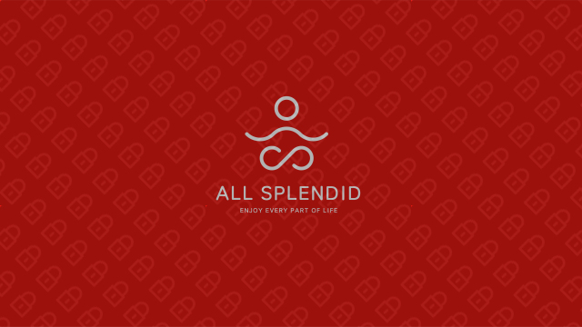 ALL SPLENDID瑜伽服装店LOGO必赢体育官方app入围方案7