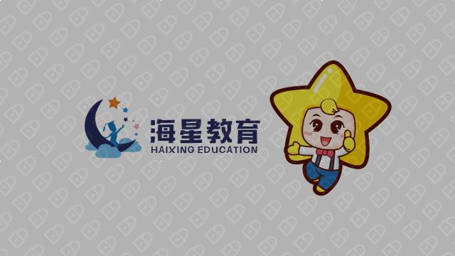 海星教育品牌吉祥物乐天堂fun88备用网站入围方案4