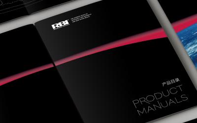加拿大RBI畫冊設計