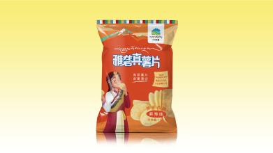 江北香薯食品品牌包装设计