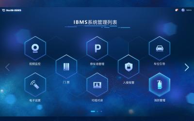 IBMS后台界面设计