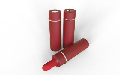 if产品设计:唇膏管