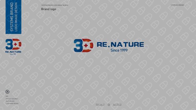 3D RE.NATURE医疗器械品牌LOGO设计入围方案0