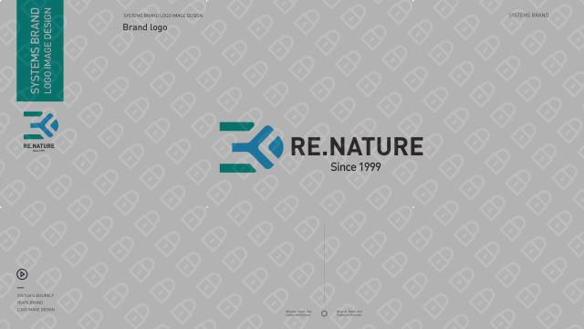 3D RE.NATURE医疗器械品牌LOGO设计入围方案1