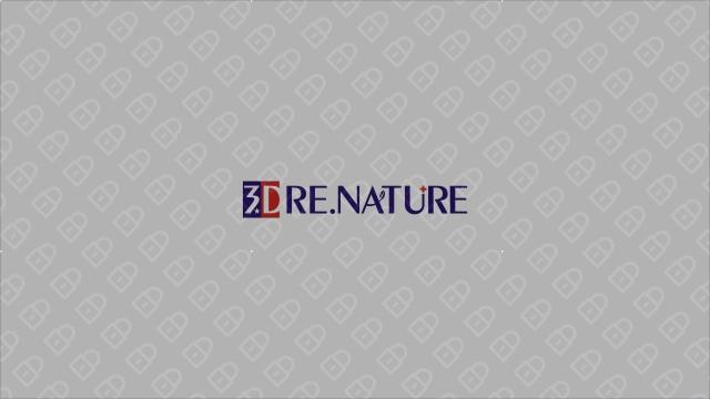 3D RE.NATURE医疗器械品牌LOGO设计入围方案3