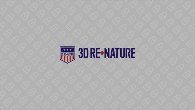 3D RE.NATURE医疗器械品牌LOGO设计入围方案2