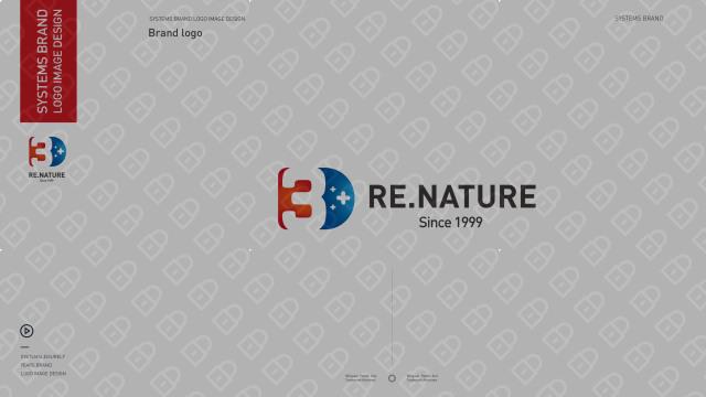 3D RE.NATURE医疗器械品牌LOGO设计入围方案4