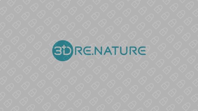3D RE.NATURE医疗器械品牌LOGO设计入围方案8