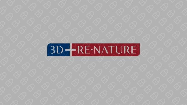 3D RE.NATURE医疗器械品牌LOGO设计入围方案6