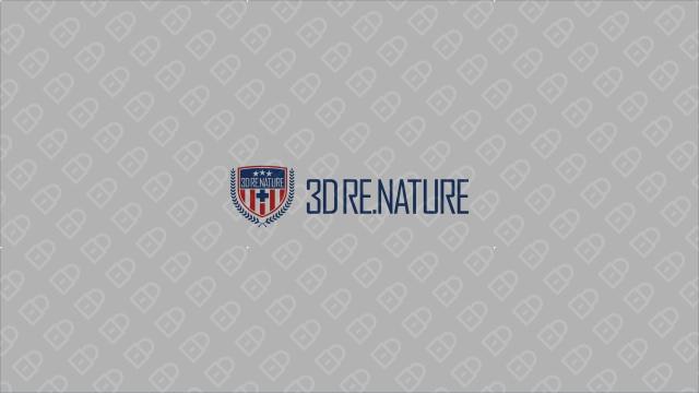 3D RE.NATURE医疗器械品牌LOGO设计入围方案5