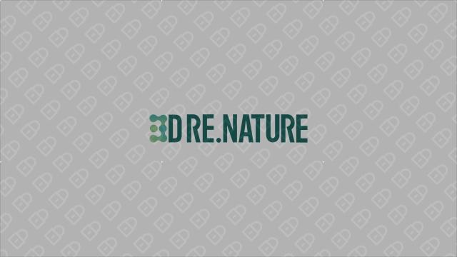 3D RE.NATURE医疗器械品牌LOGO设计入围方案11