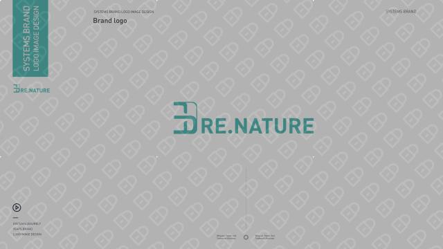3D RE.NATURE医疗器械品牌LOGO设计入围方案9