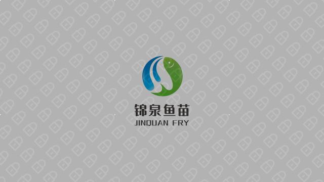 锦泉鱼苗品牌LOGO必赢体育官方app入围方案3