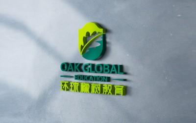 環球橡樹教育LOGO