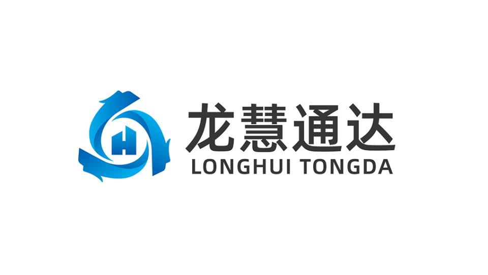龙慧通达管理公司LOGO设计