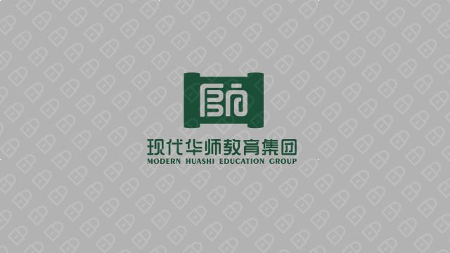 现代华师教育集团LOGO设计入围方案2