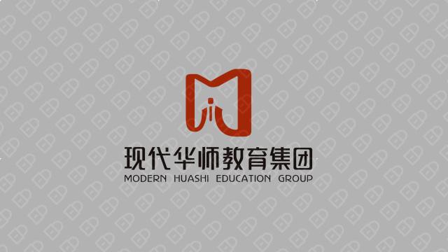 现代华师教育集团LOGO设计入围方案1