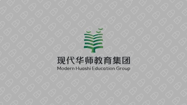 现代华师教育集团LOGO设计入围方案5