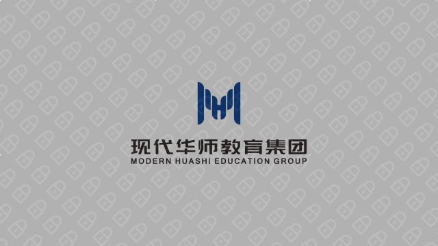 现代华师教育集团LOGO设计入围方案4
