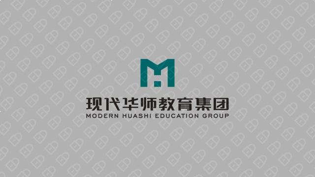 现代华师教育集团LOGO设计入围方案3