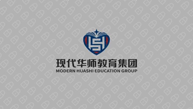 现代华师教育集团LOGO设计入围方案8