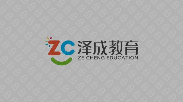 泽成教育公司LOGO设计入围方案1
