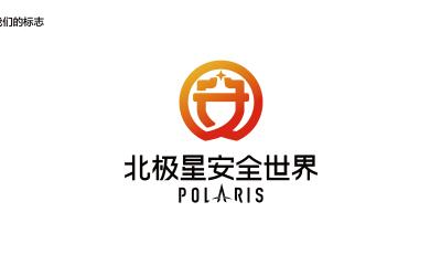 北極星安全世界logo+vi設...