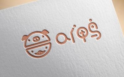 ai 鸭品牌logo设计