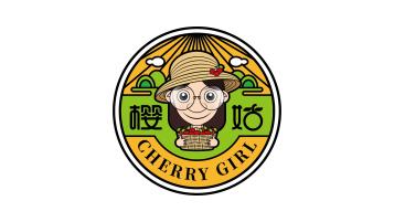 櫻姑水果品牌LOGO設計