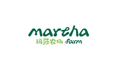 玛莎农场品牌logo设计