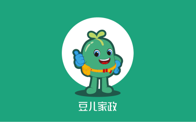 北京豆儿家政品牌形象设计