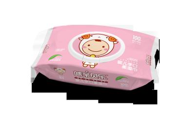 咪亲宝贝婴儿湿巾包装设计