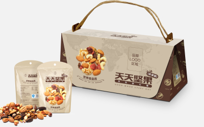 可米小子 堅果包裝設計