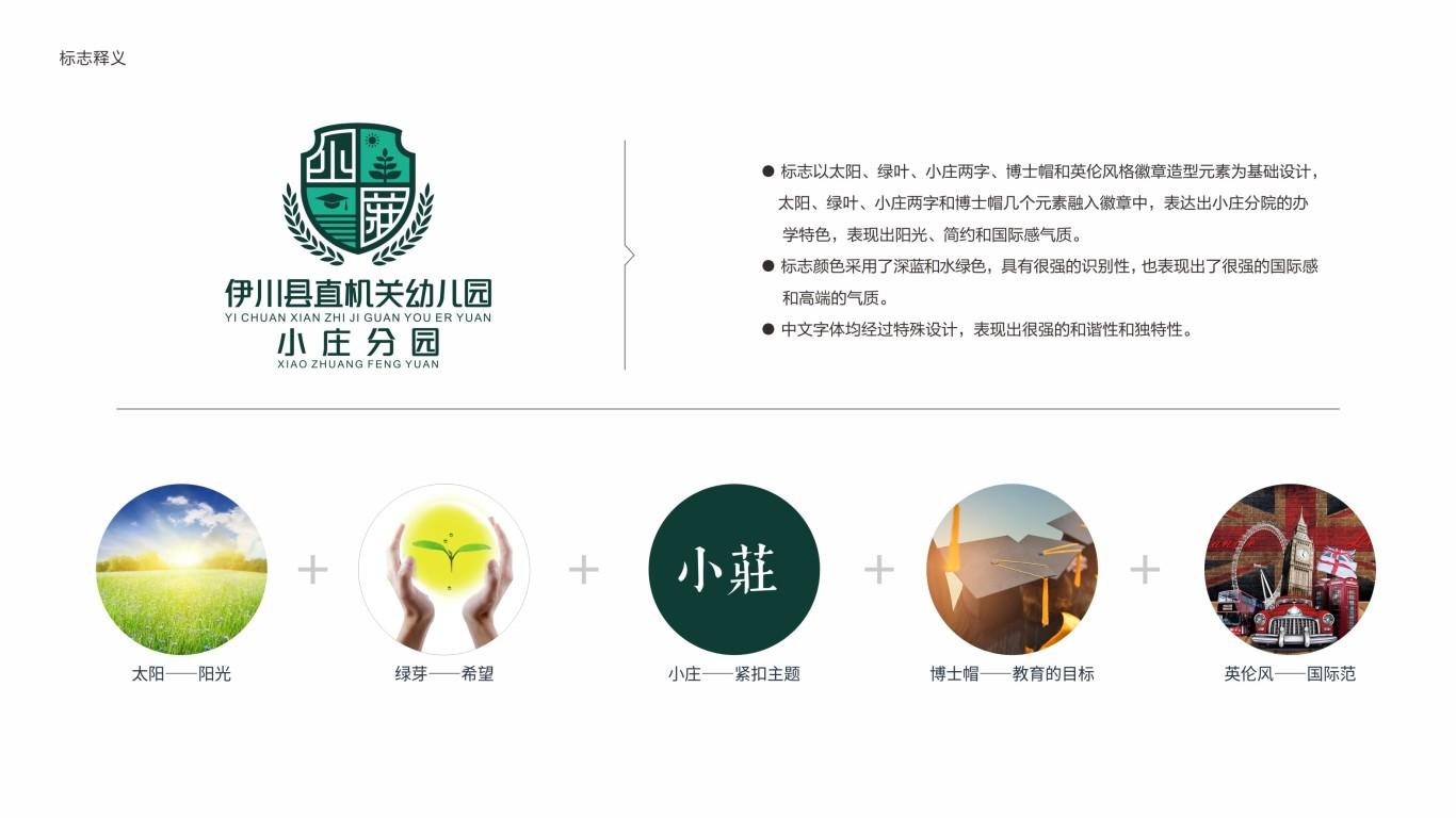 伊川县直机关幼儿园小庄分园LOGO设计中标图0