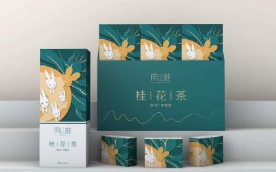 南山桂桂花茶包装设计