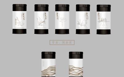 金蓮花白茶包裝設計