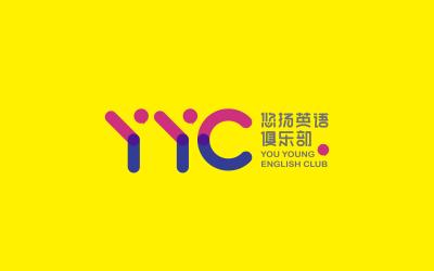 悠揚英語俱樂部logo設計