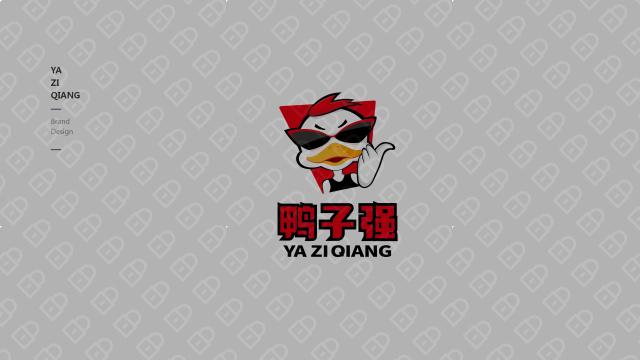 鸭子强餐饮品牌LOGO设计入围方案9