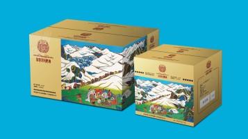 藍夢戈爾啤酒品牌包裝延展設計