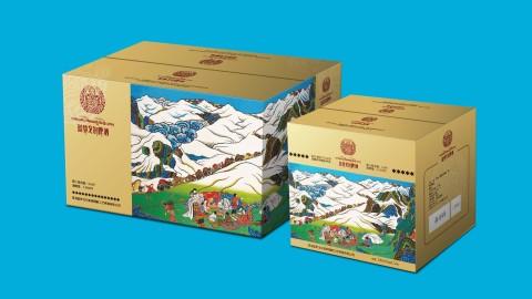 蓝梦戈尔啤酒品牌包装延展设计