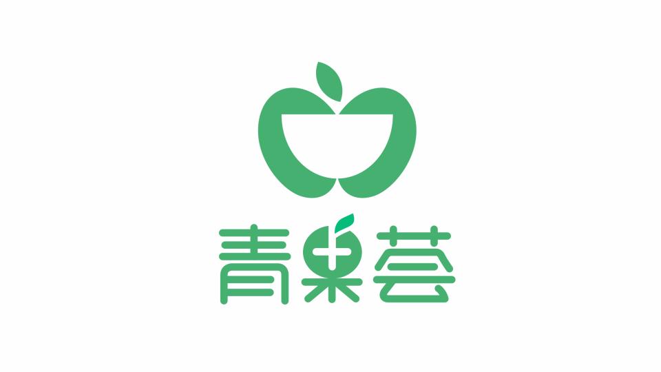 青果荟餐饮品牌LOGO设计
